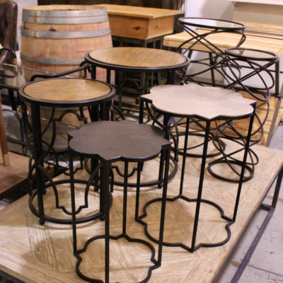 side tables, furniture rental, north carolina furniture rental, north carolina event designers,