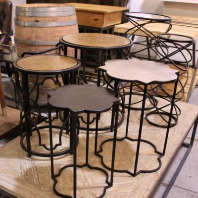 side tables, furniture rental, north carolina furniture rental, north carolina event designers,