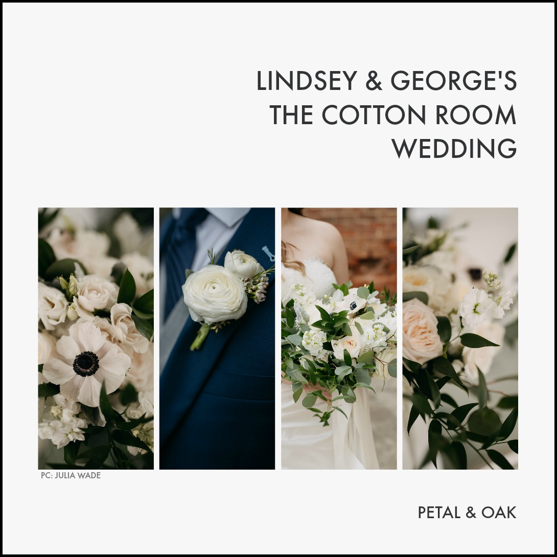 Lindsey & George's The Cotton Room Wedding